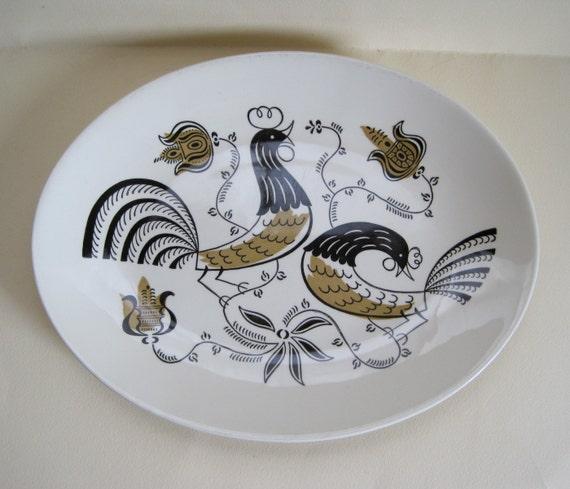 """Royal China """"Good Morning"""" Serving Platter"""