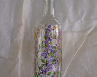 Handpainted Soap Bottle