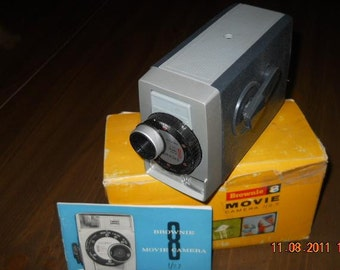 1960s Kodak Brownie 8 Movie Camera