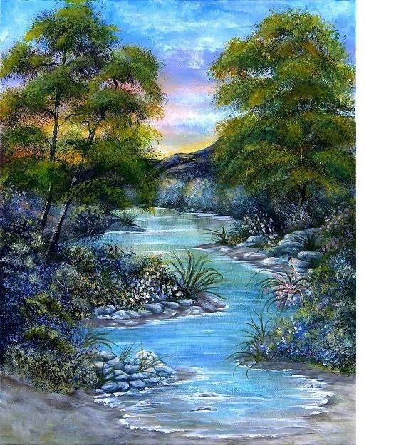 Peaceful Valley, Limited Edition fine art print, Treasury item