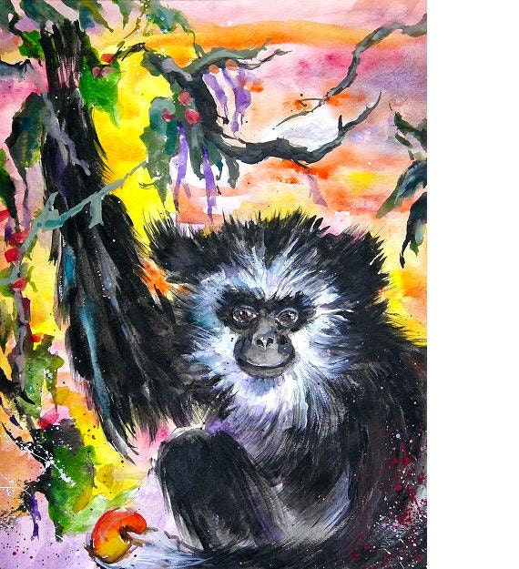 Monkey Business, Limited Edition Print
