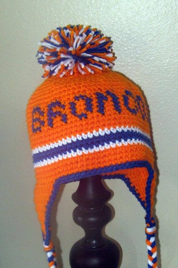 Custom BRONCOS Stocking Hat
