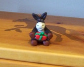 Mule Christmas ornament (polymer clay )