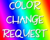 Color Change Upgrade