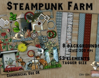 Steampunk Farm