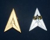 StarTrek Pin, SciFi, communications badge