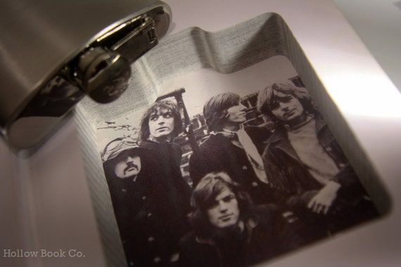 Hollow Book Safe and Hip Flask - Vintage (1996) Pink Floyd