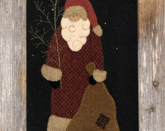North Woods Santa pattern