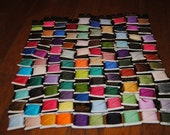 This is a lot of 100 skeins of J & P Coats Embroidery floss