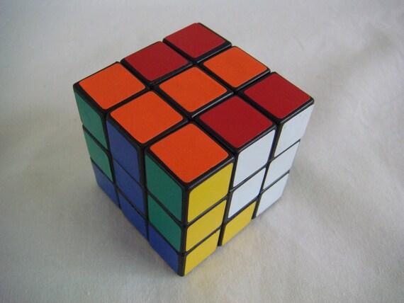 Vintage Rubik's Cube 1980s - TREASURY LISTED