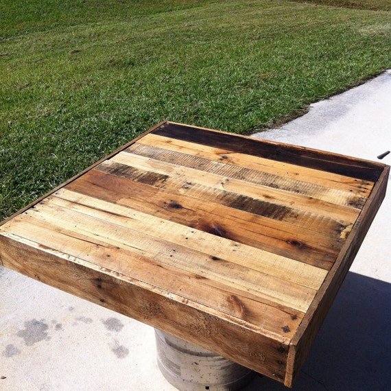 Etsy Wood Oval Coffee Table: Items Similar To Reclaimed Barnwood Wood Coffee Table