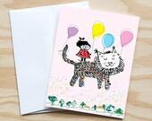 Balloon Girl, Single Card