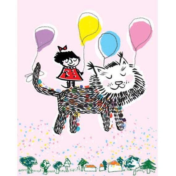 Balloon Girl, Card