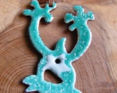 nigel - turquoise monster pendant
