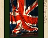 British Union Jack flag - Britishers -