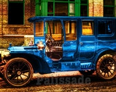 Packard automobile - Steampunk style