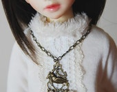 the Dove - OOAK necklace for SD/MSD