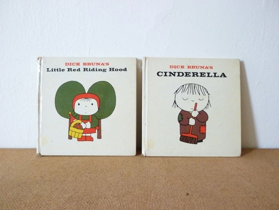 Little Red Riding Hood and Cinderalla by Dick Bruna