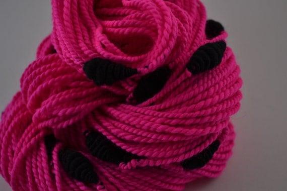 Princess Punk Rock Neon Edition handspun yarn - 92 Yards