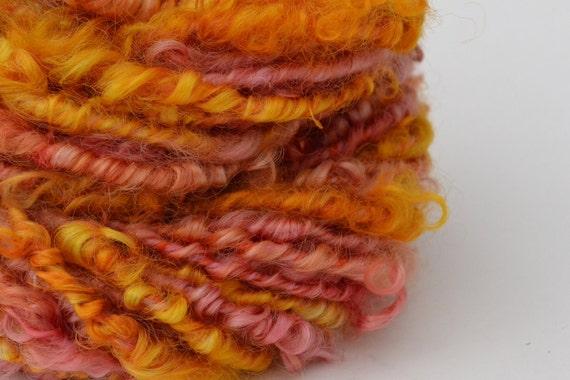 Girl Party tailspun handspun art yarn - 24 Yards