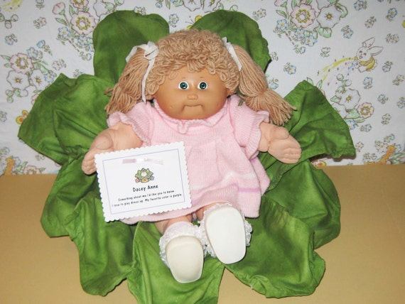 KT Factory Cabbage Patch Girl