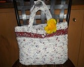 Crocheted Plarn Purse