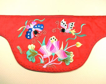 Vintage Chinese silk embroidery-number 3