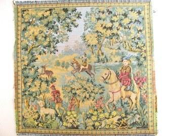Vintage tapestry panel 02