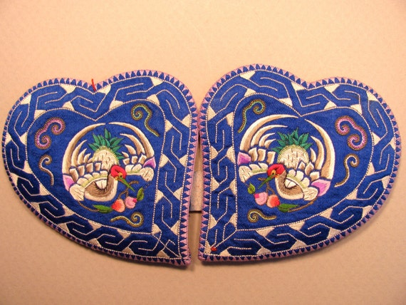 reserved for Sandra - Vintage Chinese ear covers-number 12