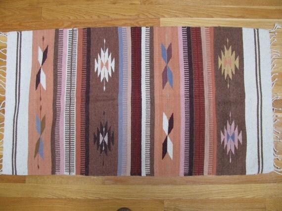Vintage handwoven rug 15
