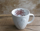 Mug with Octopus and Shell
