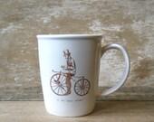 Mug Motorcycle and Velocipede Man
