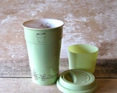 Ceramic Travel Mug Growing Garden