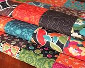 Bright Floral Lap Quilt