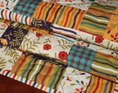 Bright Quilted Table Runner
