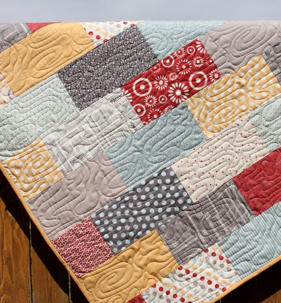 Hometown Baby Boy Quilt