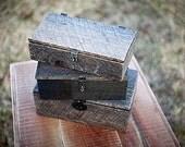 Reclaimed Barnwood Keepsake Box