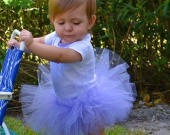 Sewn Custom Tutu 6-inch Long in Many Colors and Sizes