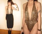 Ujena Animal Leopard Print Swimsuit