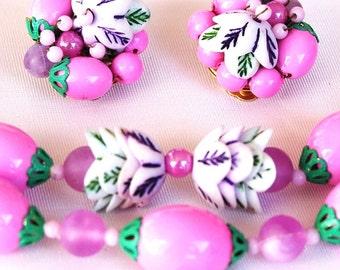 Vintage Necklace Earring Set Hong Kong