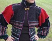 Upcycled Wool Patchwork Mariachi Jacket