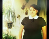 Plus Size Wednesday Addams dress