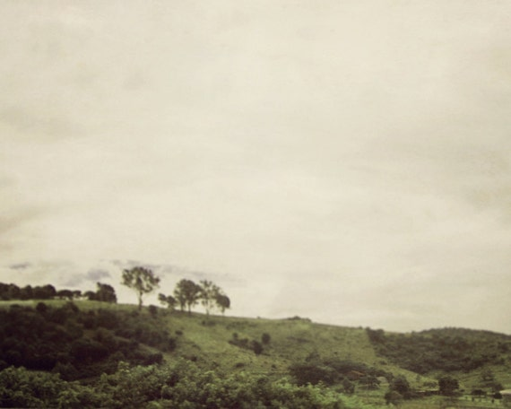 Greener Pastures Minimalist Landscape Photo by 9thCycleStudios