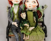 Reserved for iasio - Klara - art doll ooak