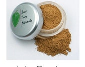 Amber Vegan Foundation - Always Vegan and Cruelty-Free- 9g product in a 30g sifter jar