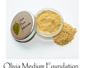 Olivia Medium Vegan Foundation - Cruelty-Free Vegan Mineral Makeup