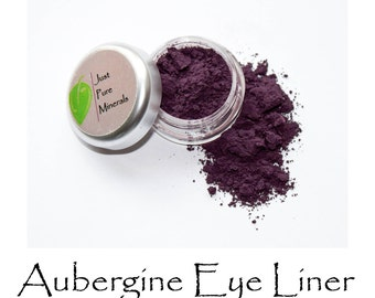 Aubergine Vegan Eye Liner - Absolutely Cruelty-Free and Absolutely Gorgeous