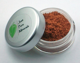Fiery Redhead Vegan Eye Shadow - Cruelty Free Mineral Eye Shadow- 3g of product in a 10g sifter jar