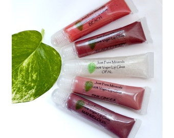 Lip Gloss, Any Shade, in 10ml tube with slant tipped applicator