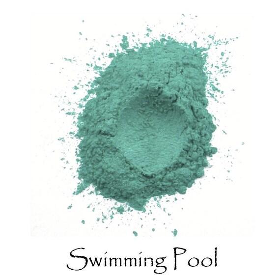 Swimming Pool Vegan Eye Shadow Cruelty Free Mineral Eye